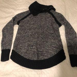 Lululemon Cowl neck sweater .